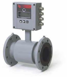 Battery-operated Electromagnetic water meter