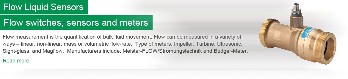 Flow Liquid Sensors Header